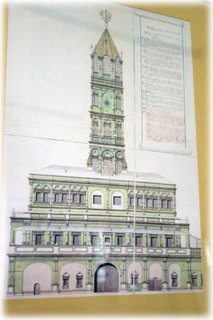 Проект Сухаревской башни