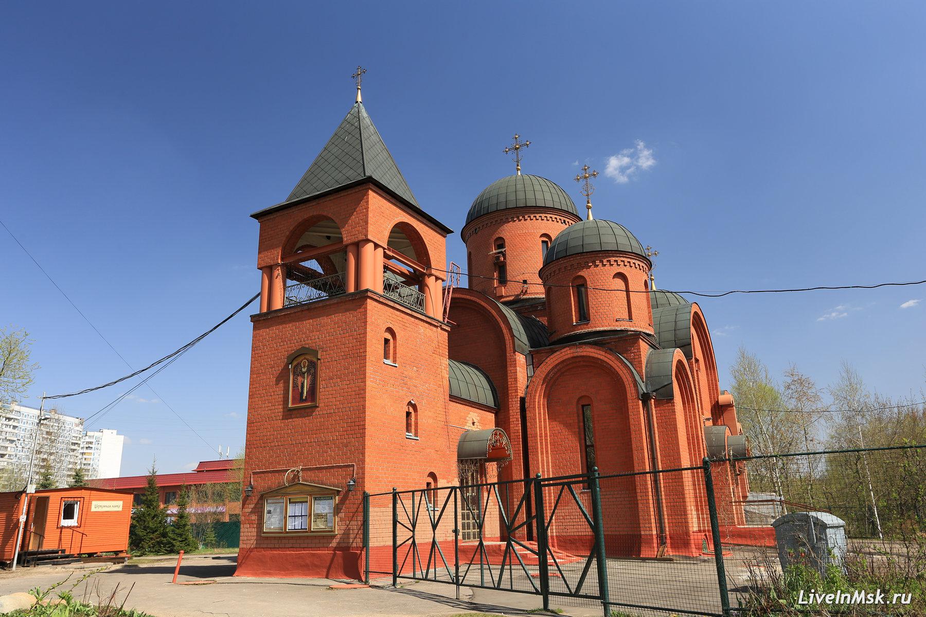 Никольская церковь в Отрадном