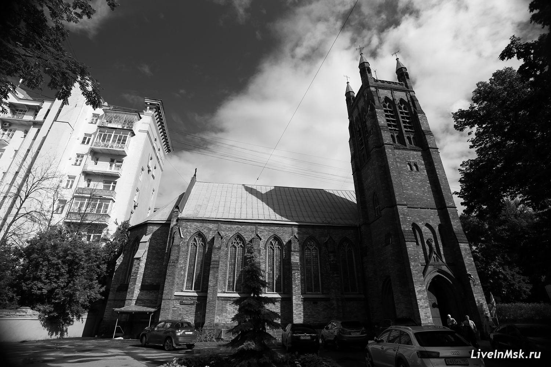 Англиканская церковь, фото 2016 года