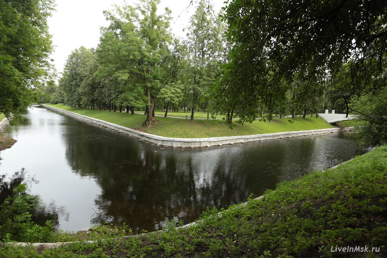Парк «Красная Пресня», фото 2014 года