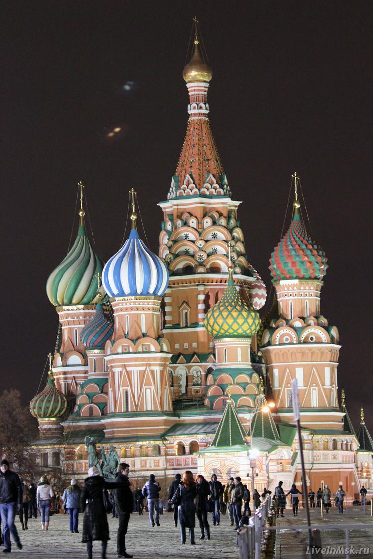 Покровский собор на Красной площади, фото 2014 года