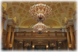 Екатерининсский зал в Царицыно