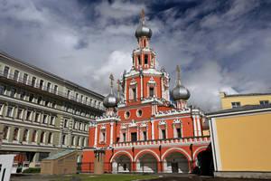 Знаменская церковь на Шереметевом дворе