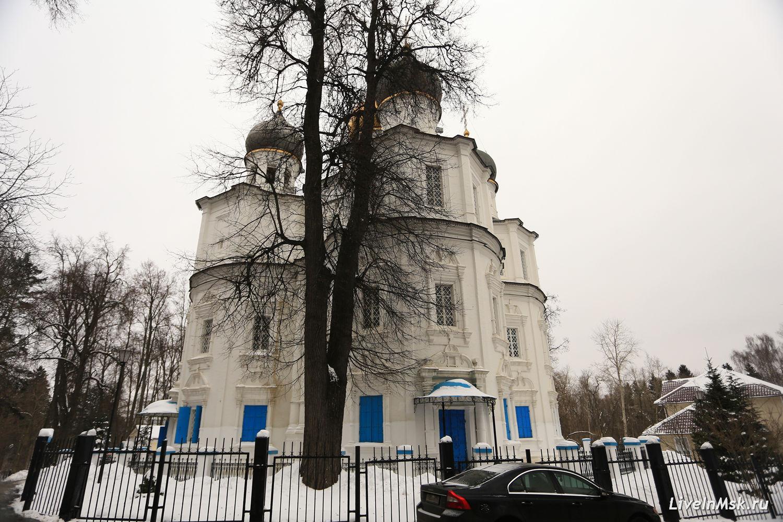 Казанский храм в Узком, фото 2018 года