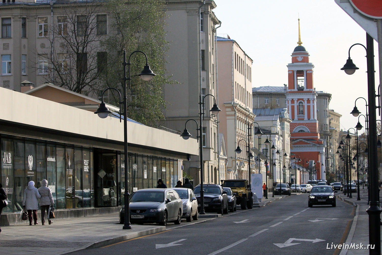 Пятницкая улица, фото 2016 года