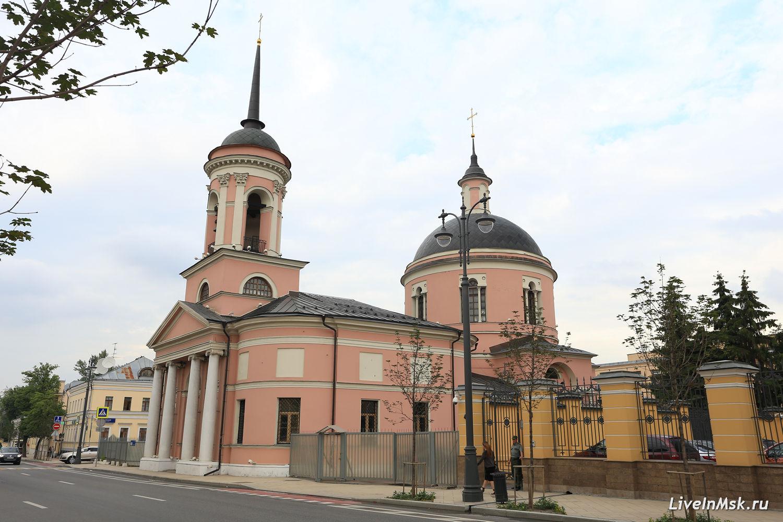 Храм Иверской иконы Божьей Матери на Всполье, фото 2016 года