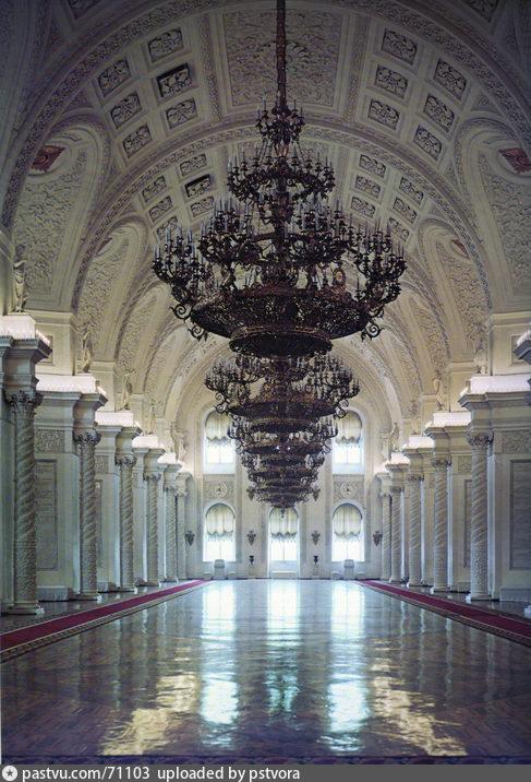 Георгиевский зал Большого Кремлевского Дворца