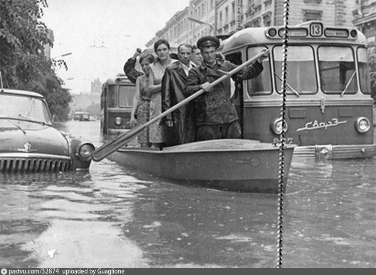 Наводнение на Неглинной улице