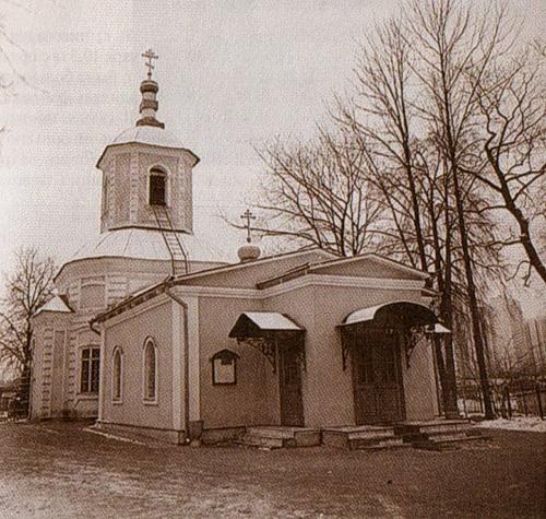 Крестовоздвиженская церковь до реставрации